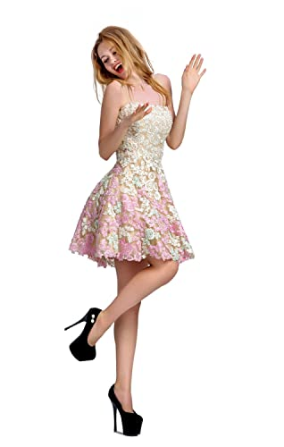 Chic Belle Women Homecoming Dr...