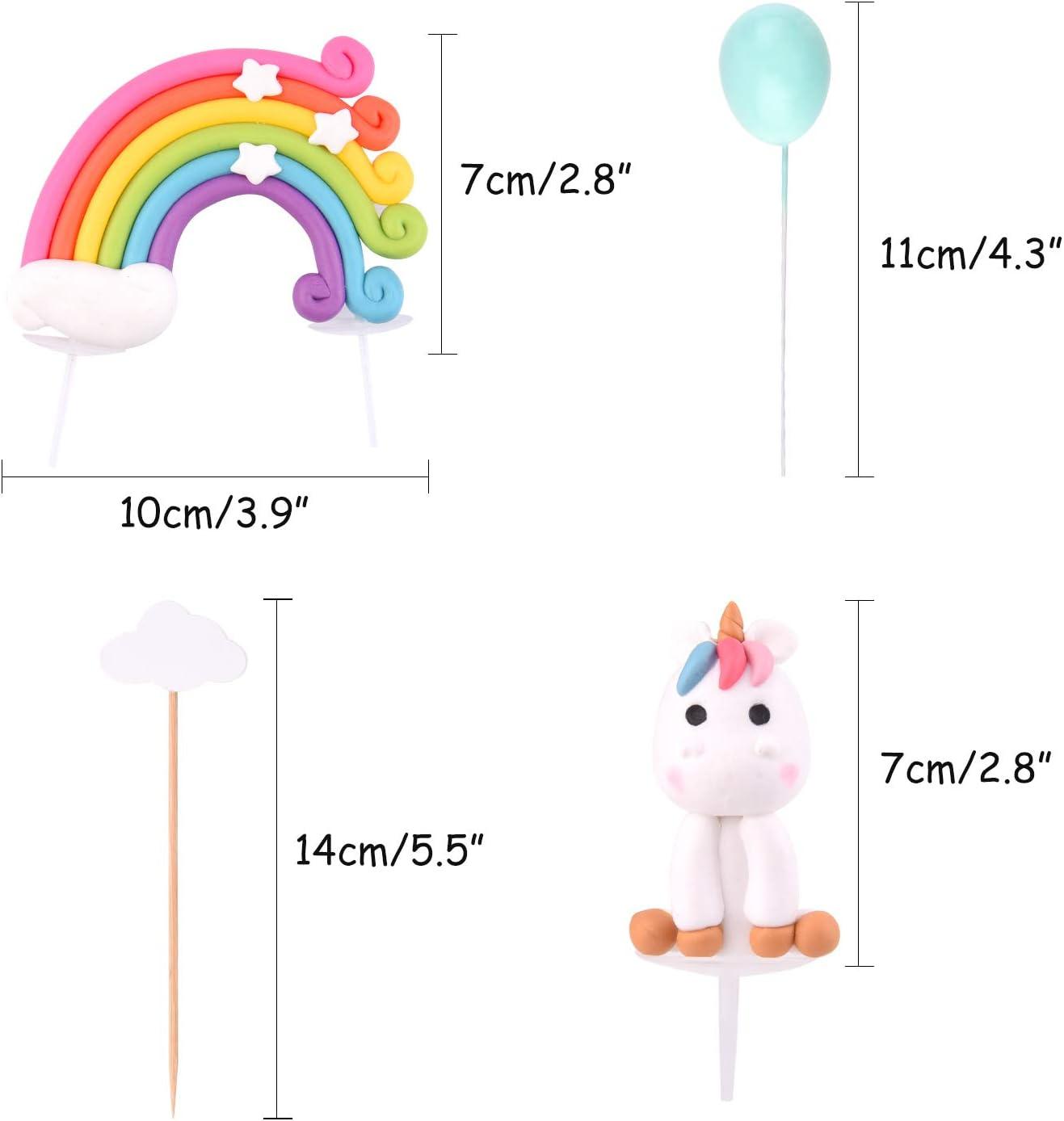 Amazon.com: Tuparka - Kit de decoración para tarta de ...