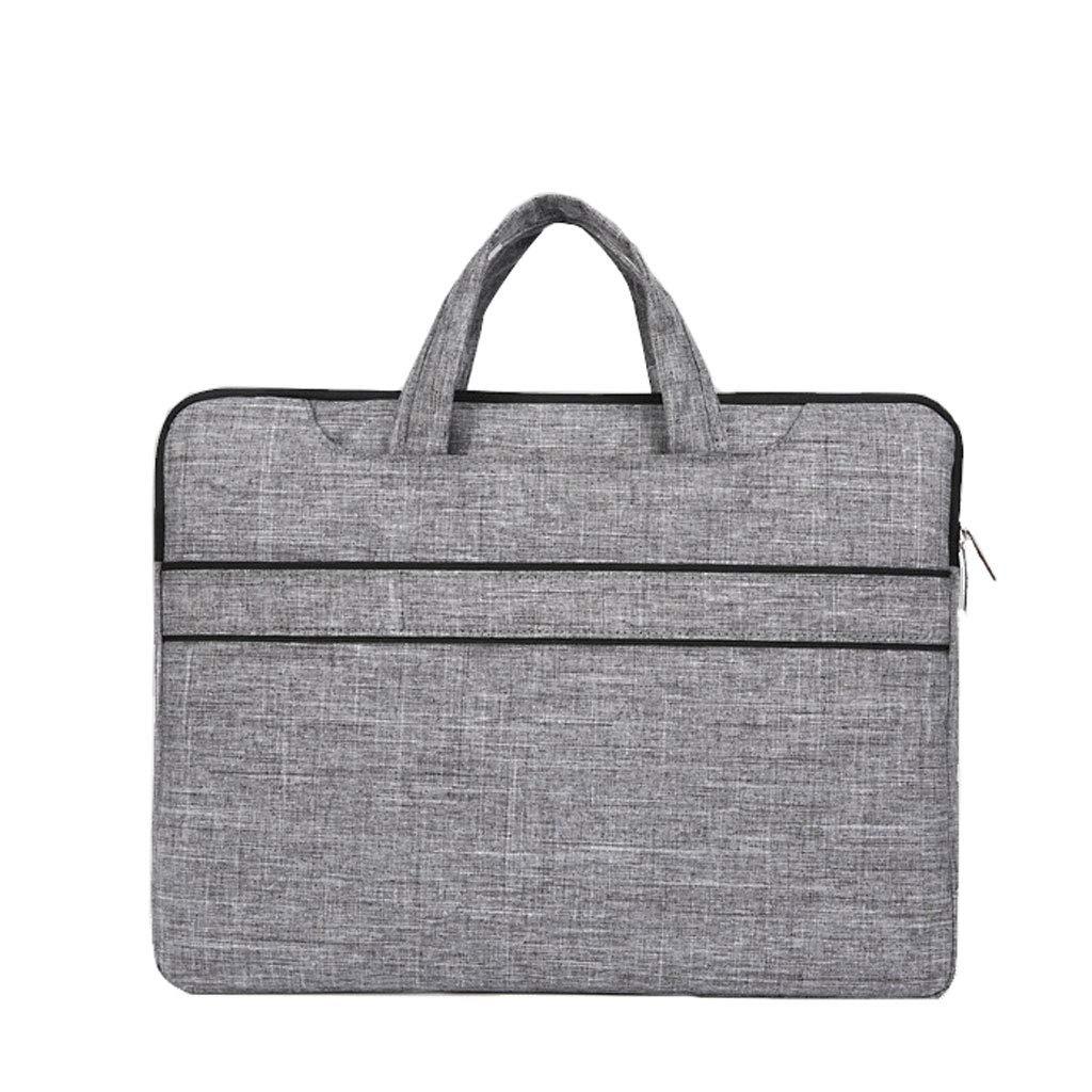 Business-Tragetasche F/ür Laptop-Tasche , Multifunktionale wasserdichte Tragbare Aktentasche Mit Gurt F/ür M/änner Und Frauen Color : Black, Size : 31 * 3 * 29cm