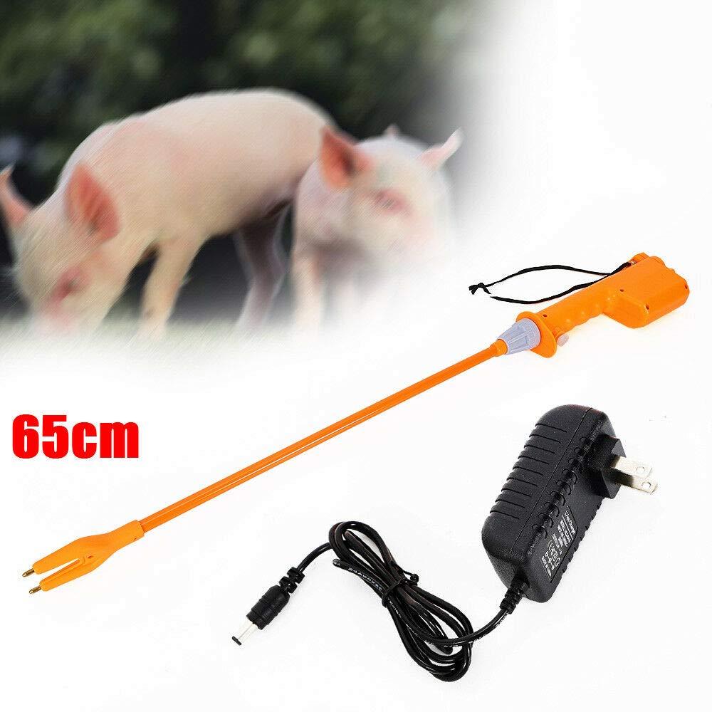 Animal Electric Prod Hot Shock, Rechargeable Hand Prod Shock Livestock Pig Cattle Cow Prod Safety Shock Prodder Farm Helper Tool (65cm) by NICE CHOOSE