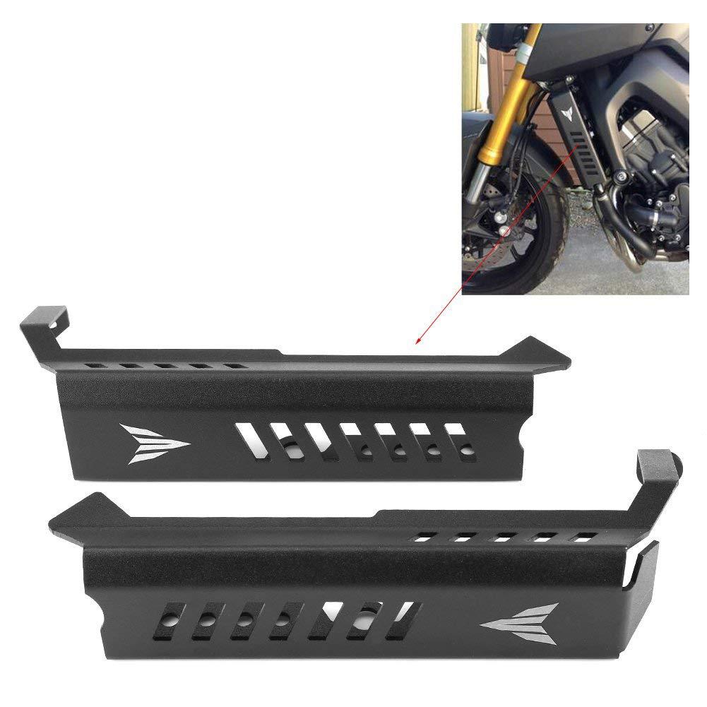 TOOGOO per Mt09 Fz09 Mt-09 Mt 09 FZ 09 Fz-09 2014-2016 Motocicletta in Alluminio Griglia Protezione Griglia Proteggi Fianchi