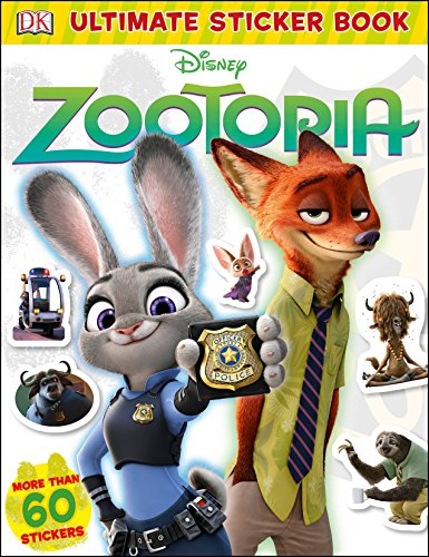 Ultimate Sticker Book: Disney Zootopia (DK Ultimate Sticker Collections) [DK] (Tapa Blanda)