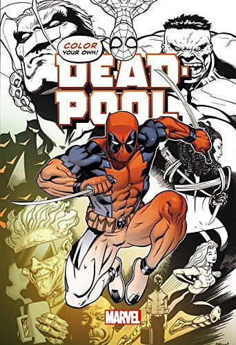 Color Your Own Deadpool -