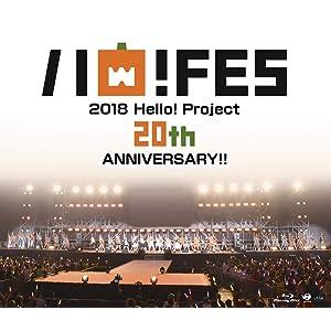 Blu-ray Disc. Hello! Project 20th Anniversary!! Hello! Project ハロ!フェス 2018【Hello! Project 20th Anniversary!! プレミアム】