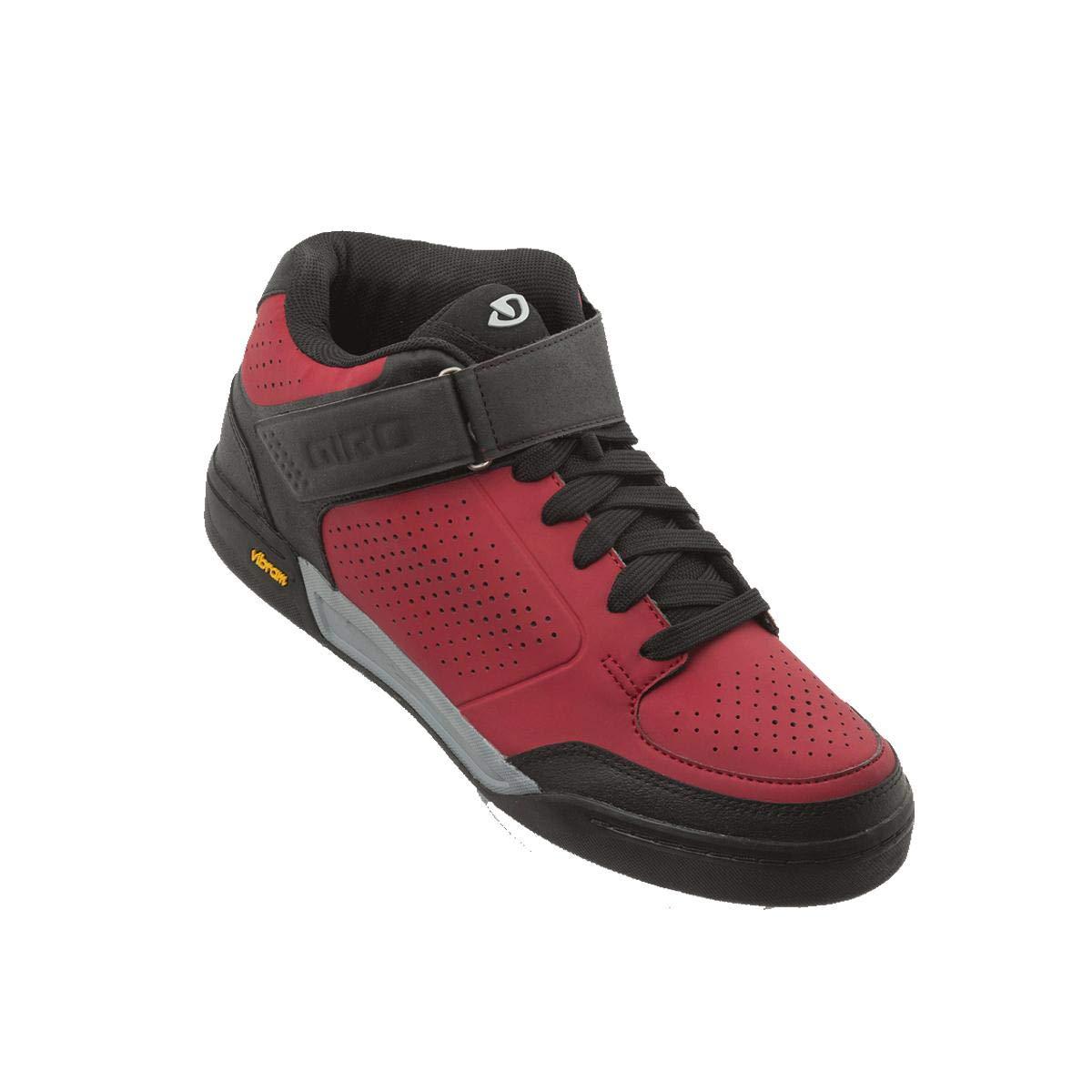 Dark Red Black Giro Riddance Cycling shoes - Men's