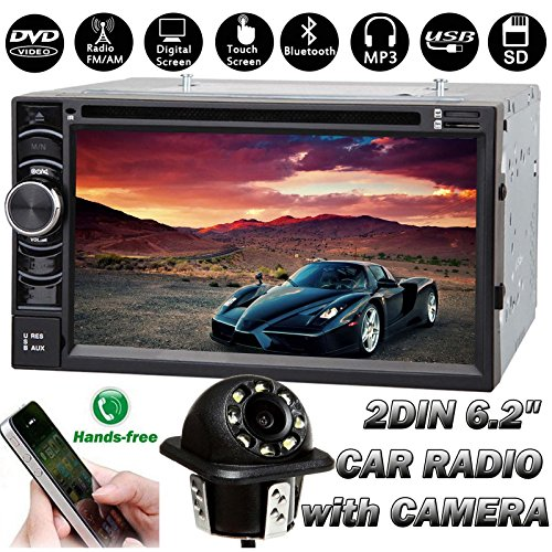 Newest Double Din Car Stereo with Bluetooth Function: Amazon.co.uk: Electronics