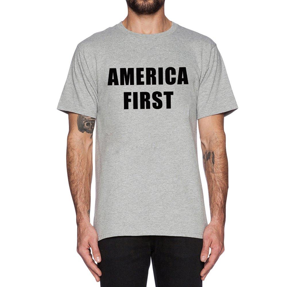 Loo Show America First Casual T Shirt Tee