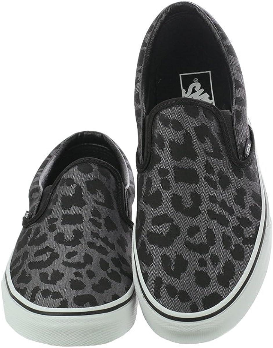 Vans Authentic Vn0a38emu5a1, Sneakers Basses Homme Léopard Noir