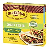 Old El Paso Smart Fiesta Soft Taco Dinner Kit, 10-Count, 354 Gram