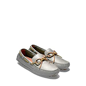 Cole Haan Men's Grant Driver, Grey Leather