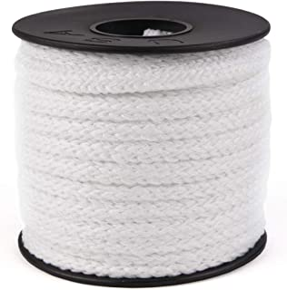 product image for Atwood Rope MFG 5/32in 34 Yards / 100 feet White Round Sewing Elastic | Elastic Cord for Sewing | Braided Elastic | Elastic for Masks | Tela para Mascarillas (5/32)