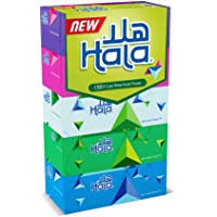 Hala Facial Tissue-Pack of 5 boxes, 150 sheets x 2Ply