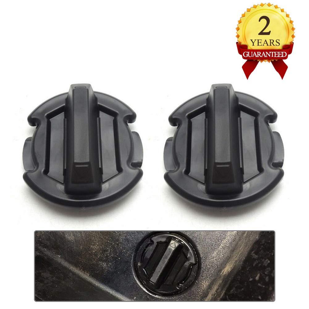 2 Pcs Twist Floor Drain Plug Trap Seal for 2014/2015/2016/2017 Polaris RZR XP 1000 900 XP 4 Turbo 8414694-BUNKER INDUST by BUNKER INDUST