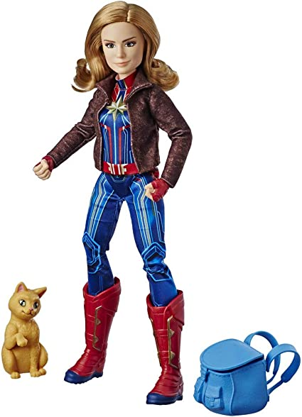 Amazon.es: Captain Marvel - Capitana Marvel Goose y el Gato ...