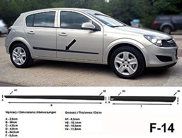 PREMIUM Antirutsch Gummi-Kofferraumwanne für Opel Astra H Kombi 2004-2010