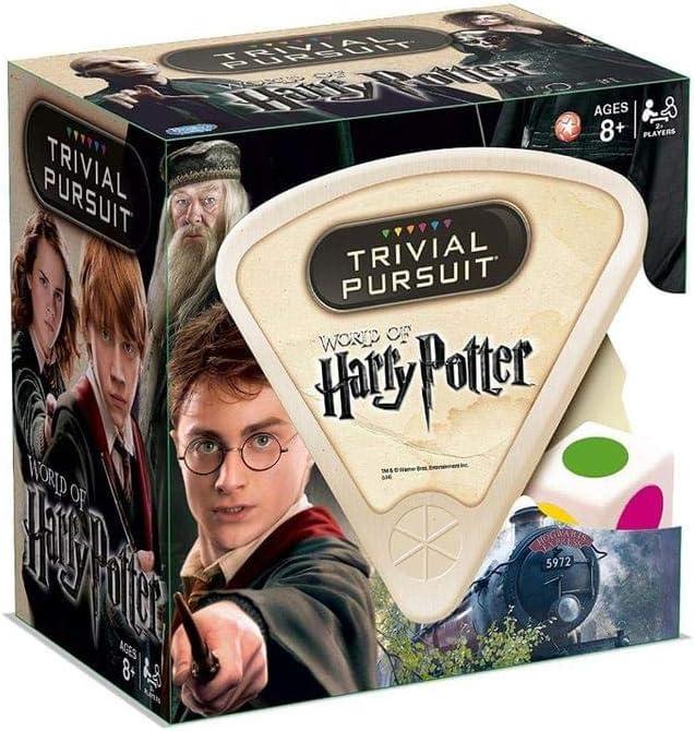 Trivial Pursuit 21289 - Juego de Preguntas de Harry Potter en Ingles para 2 o más Jugadores (versión en inglés): Game: Amazon.es: Juguetes y juegos