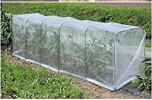 FANBRILLIANT 1mm Mesh Hole 2 Meters Wide 4 Meters Height Mosquito Netting Insect Bird Barrier Netting Mesh Garden Bug Netting Plant Cover for Protect Plant Fruits Flower from Insect Bird Eating
