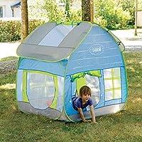 LUDI - 5210 - Tienda para jardín con diseño de cabaña: Amazon.es: Juguetes y juegos