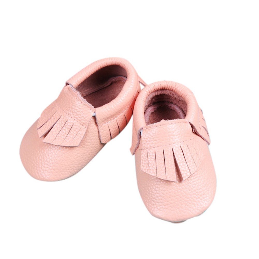 Unique Baby Leather Baby Moccasins Anti-Slip Shoes