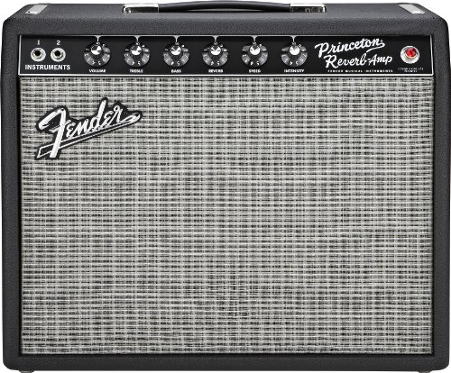 (Fender '65 Princeton Reverb 15-Watt 1x10-Inch Guitar Combo Amp)