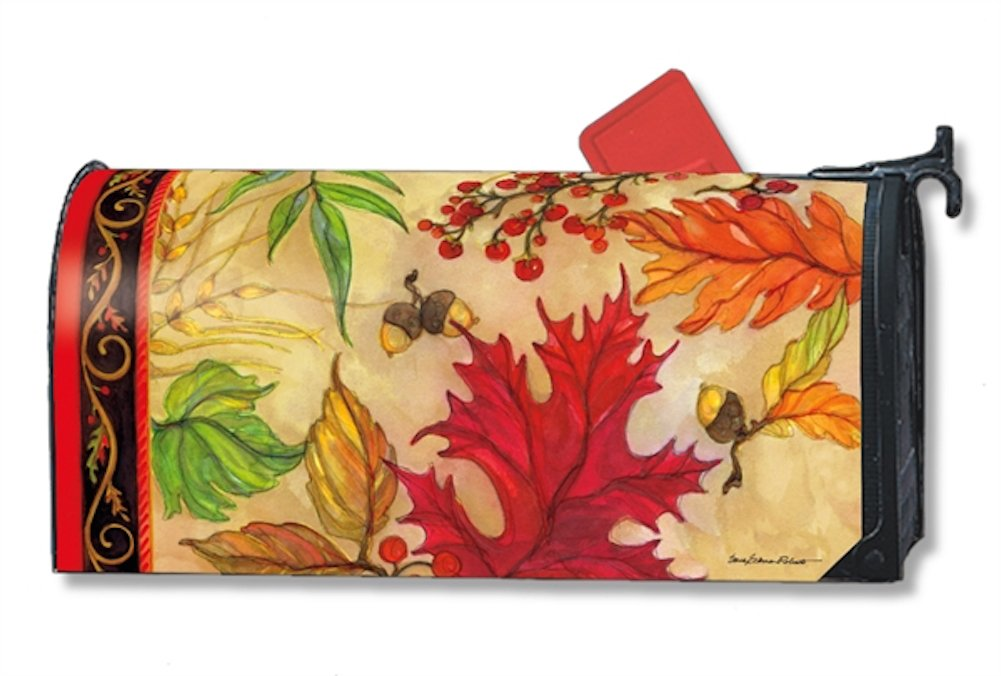 MailWraps Blaze of Glory Mailbox Cover #01230