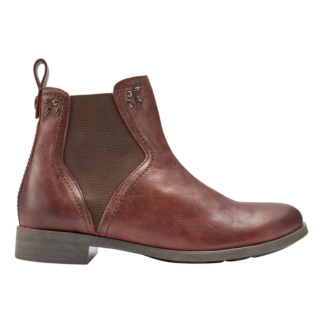 OLUKAI Kualona - Women's Slip-on Comfort Boot B01N6GVEOF 7.5 B(M) US|Friar Brown
