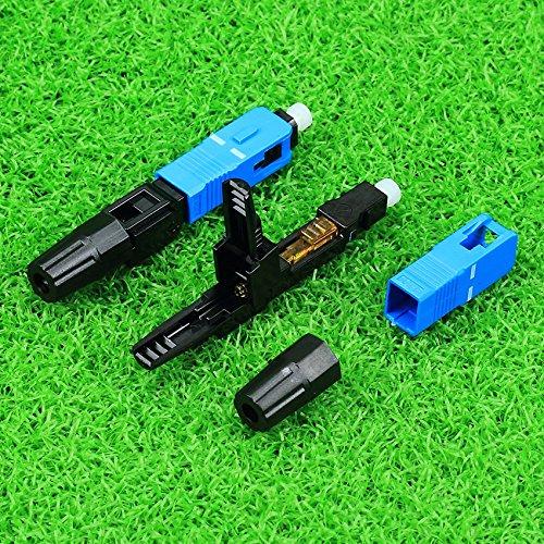 Cruiser 10 piezas de fibra /óptica de Jiezi Cold Jiezi de fibra /óptica de fr/ío Jiezi conector flexible de fibra /óptica r/ápida