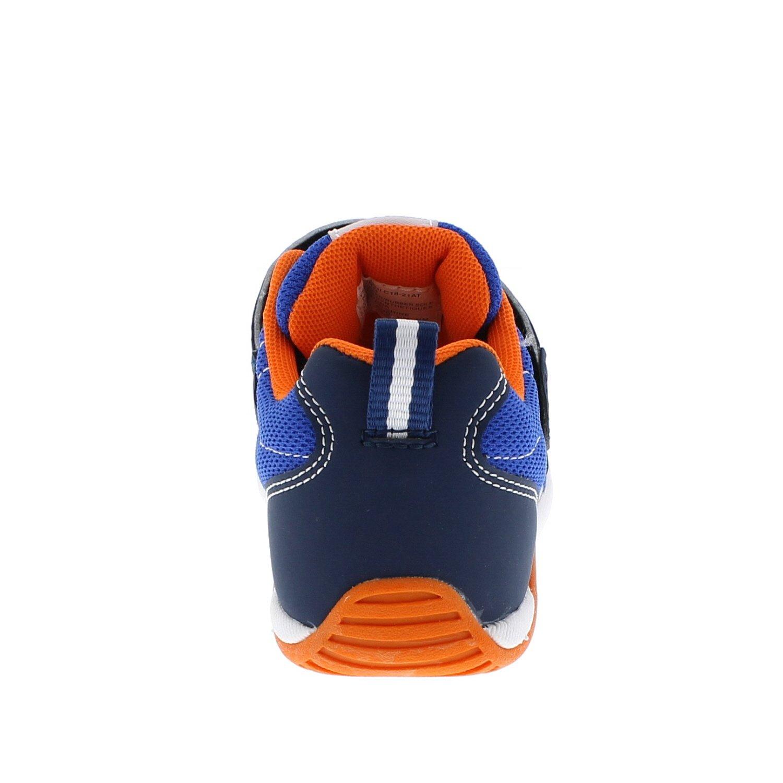 Navy//Tangerine Sneaker TSUKIHOSHI Kids Boys Kaz Toddler//Little Kid