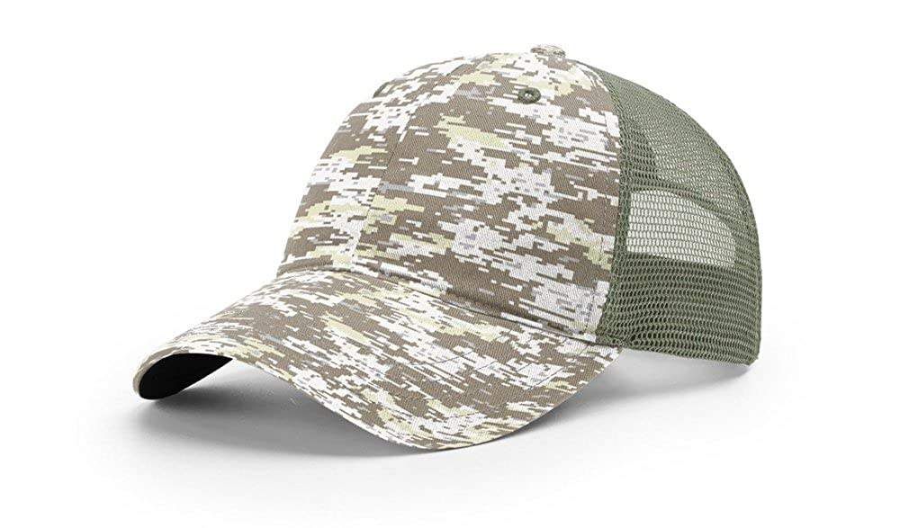 Richardson 111P Garment Washed CAMO Trucker Blank Baseball Cap OSFA HAT at  Amazon Men s Clothing store  14c61171b9d7
