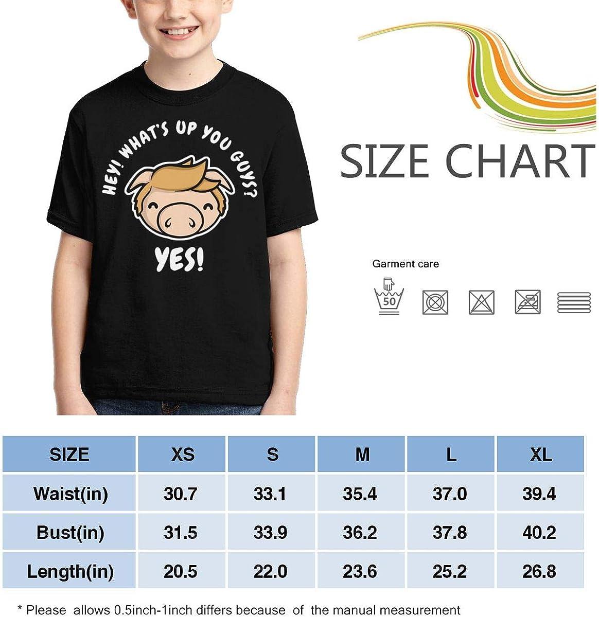 Zengqinglove Boys,Girls,Youth Hey Whats Up You Guys T Shirt