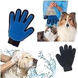 Pet Grooming Massage Glove Brush,Hair Remover Bathing Brush Kit For Long and Short Hair Dogs, Horses, Bunnies,Cat.