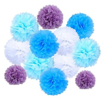 Tissue pom poms ailiebhaus assorted paper flower balls garlands diy tissue pom poms ailiebhaus assorted paper flower balls garlands diy decorating for wedding party mightylinksfo
