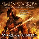 Sword and Scimitar Audiobook by Simon Scarrow Narrated by Jonathan Keeble
