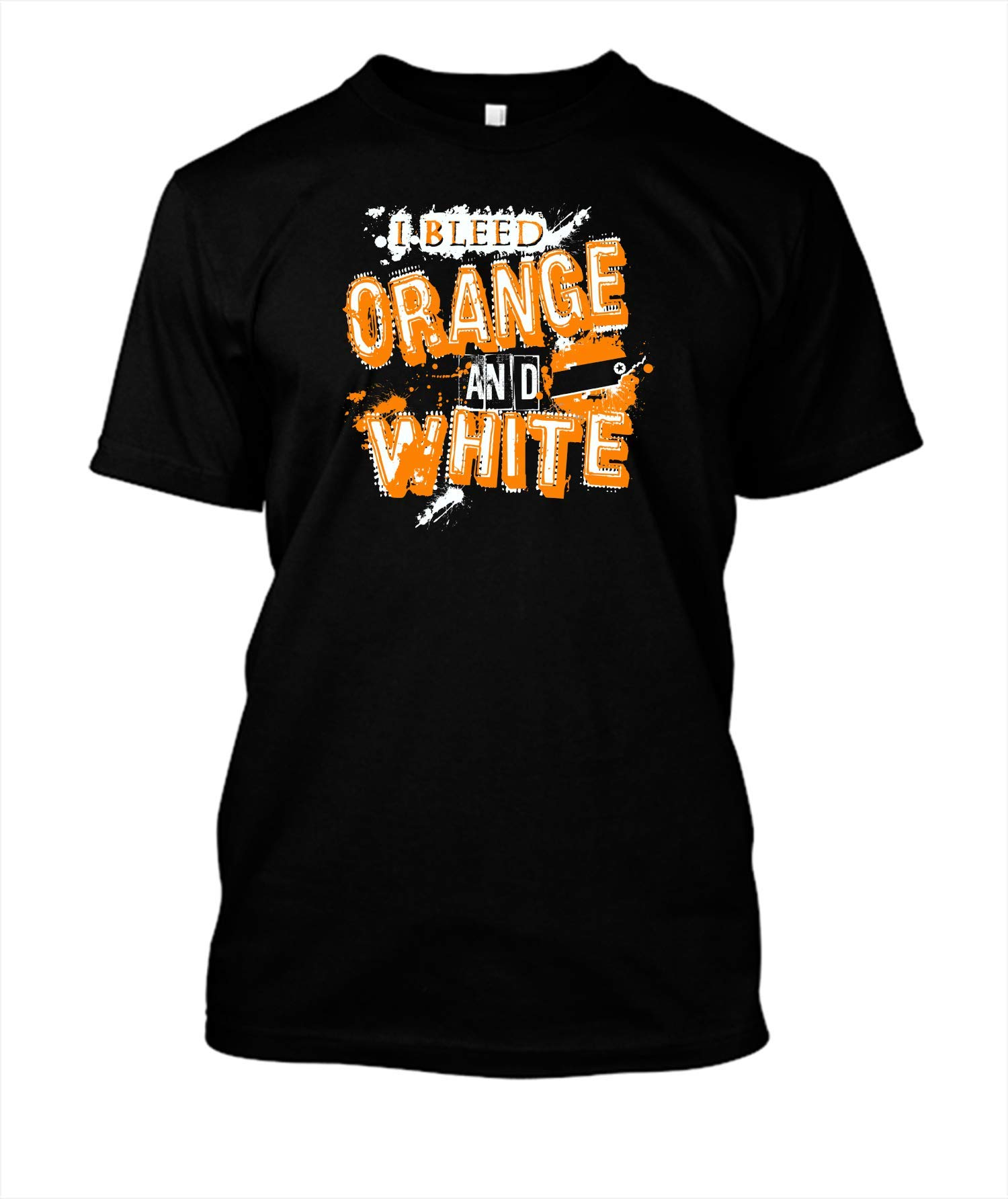 Bleed Orange And White Tennessee 18 Shirts
