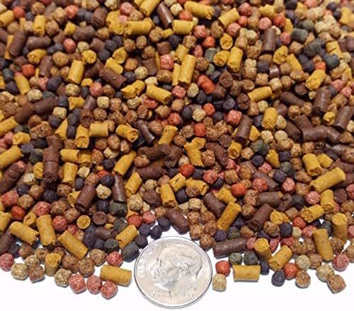 Aquatic Foods Inc. Gourmet Blend - Premium Cichlid Ultra 8-Type Mix. GB-380 8oz/1/2-lb