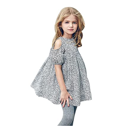 Image Unavailable. Image not available for. Color  Gufenban Baby Girl  Pageant Leopard Print Flower Girl Dress Kids Fancy Wedding ... 49b057632