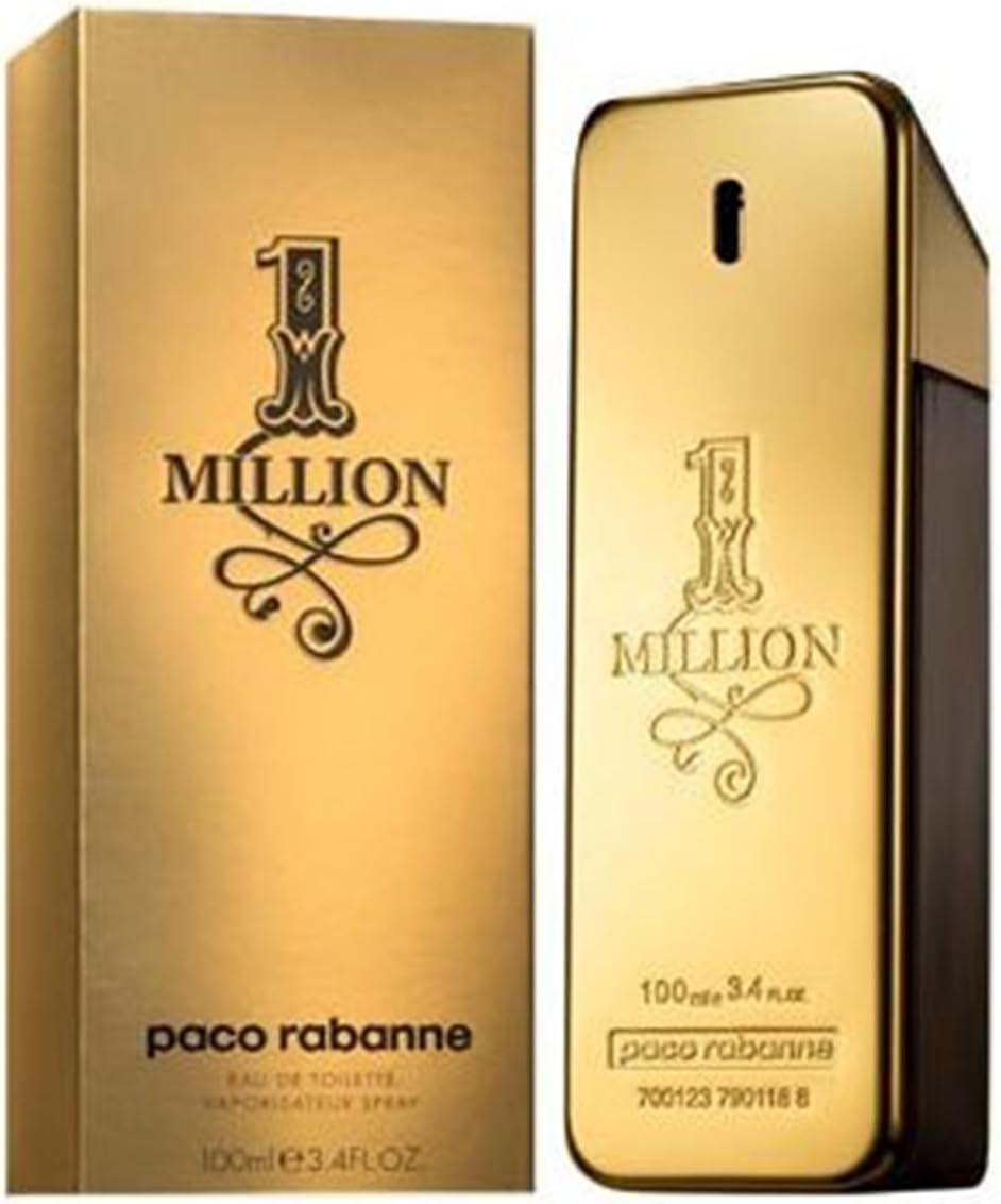 PERFUME PARA HOMBRE PACO RABANNE ONE MILLION 1 POUR HOMME 200 ML 6 ...