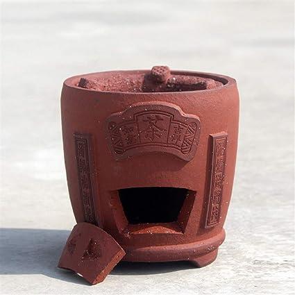 DANJIA Estufa de carbón rojo de barro kung fu té la antigua ...