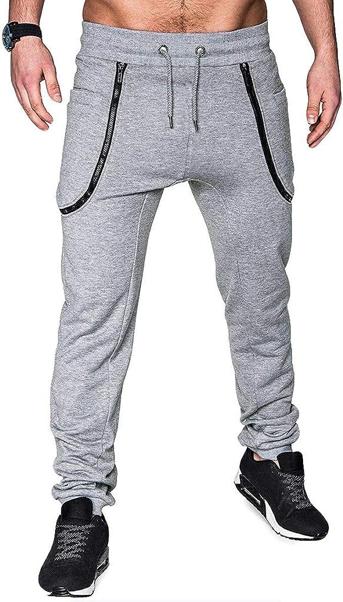 Pantalones Rasgados Para Hombre Pantalones Deporte Hombre ...