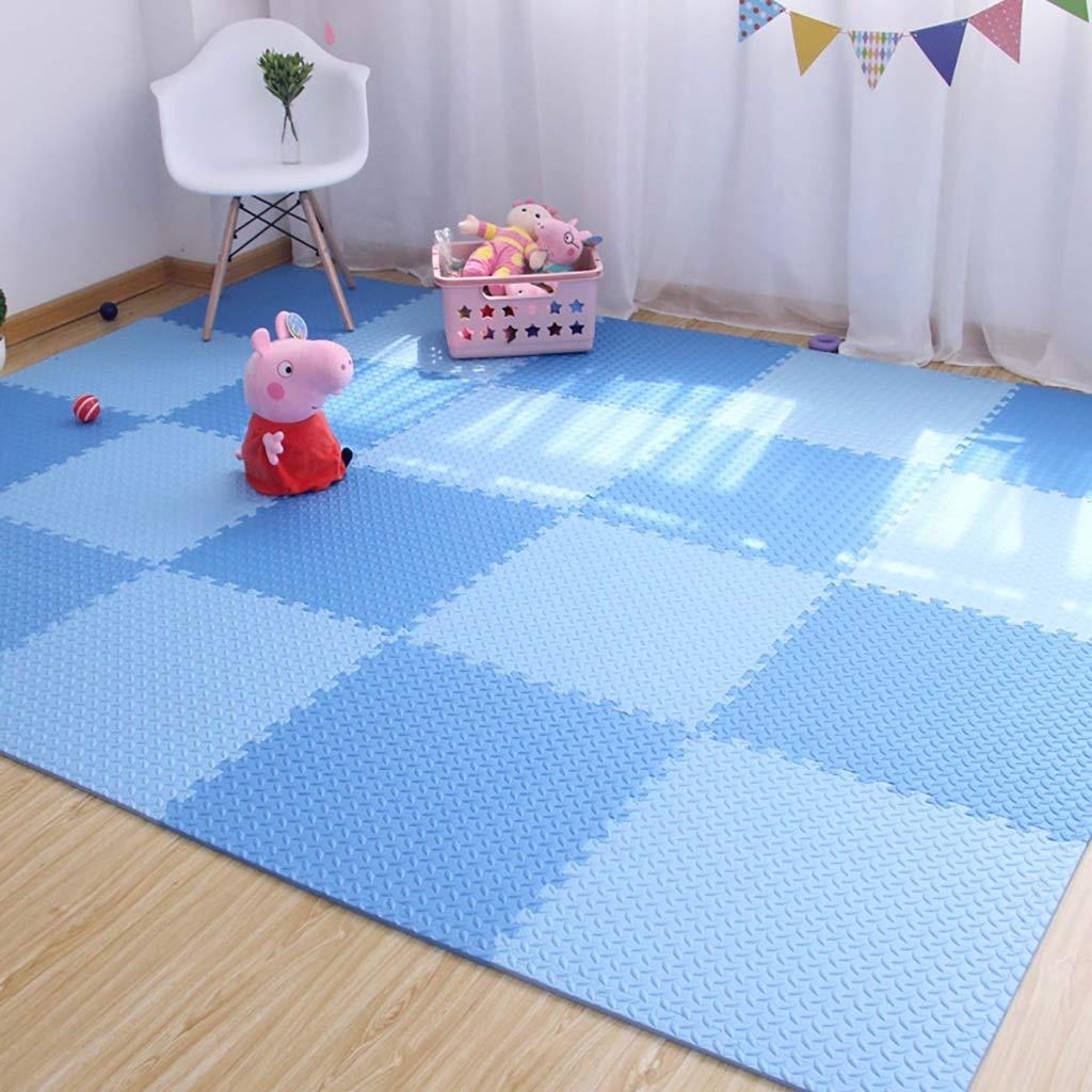 LFY Schaumstoff-Fußmatten für Kinder - Weißh, wiederverwendbar, leicht zu reinigen (größe   20 Piece)  10 piece