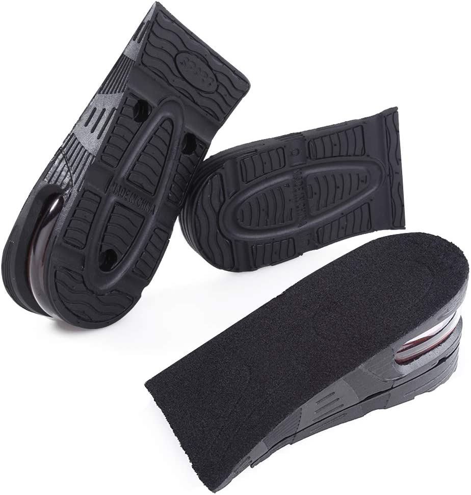 Insole Heel Lift Insert Shoe Pad Height Increase Cushion Elevator Taller GKXU