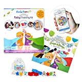 Kudo Banz Potty Starter Kit - Effective and Award Winning Positive Reinforcement Tool for Potty Training. Includes Storybook, 2 Banz, 4 Kudos, 3 Magical Kudos, Free-App, and More