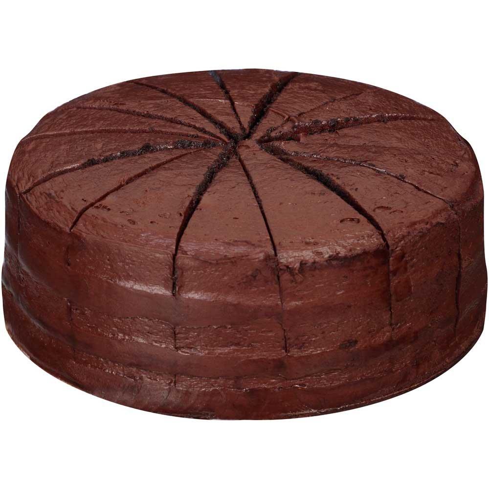 Sara Lee Round Double Chocolate Premium Butter Cream Layer Cake, 9 ...
