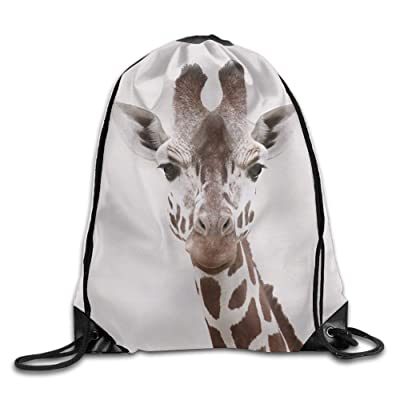 Doormat bag Paillasson Sac Cool Cordon de serrage Sac à dos Girafe Motif art Imprimé Cordon de serrage Sac à dos Sac à dos Sacs à bandoulière Sac de sport