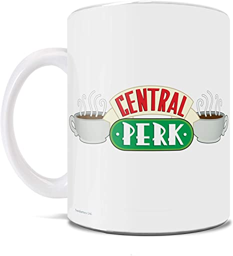 Friends Central Perk Morning Coffee Name Cup Mug Gift Novelty Birthday Christmas