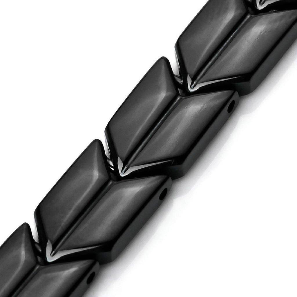 Mens Alloy Genuine Leather Bracelet Bangle Gold Brown Braided Tribal Epinki