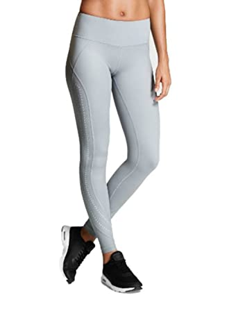 53fac7a001aea Victoria's Secret Knockout by Victoria Sport Tight (Large, Grey ...