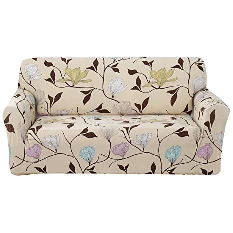 Amazon Com Forcheer Stretch Sofa Slipcover Pattern Printed Loveseat