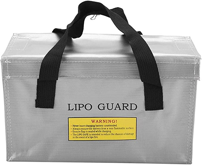 Details about  /Large Lipo Safe Charging Bag Safety Fireproof Charging Storage Sack