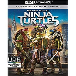 Teenage Mutant Ninja Turtles (2014) [Blu-ray]